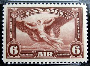 CANADA – Sc #C5 – 6¢ - RED BROWN – XF – MINT-NH – 1935 – PSE CERTIFIED