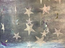 Christmas Decorations Star Garlands - Iridescent and Snowflake 3 x 18ft = 54ft