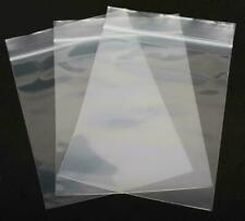 100 200 500 1000 10x13 Clear Plastic Zipper Poly Locking Reclosable Bags 2 Mil