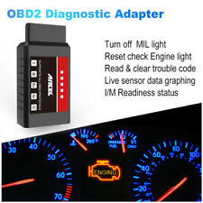 ELM327 Auto OBD2 Scanner Code Reader Check Engine Car Bluetooth Diagnostic Tool