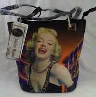 New! Marilyn Monroe Collector's Item Runway Studded Canvas Bag Purse