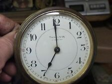 Antico orologio francese? TAMBURO Piattaforma Movimento & Dial-Pezzi di ricambio o riparazione