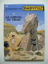 EO 2000 (très bel état) - Papyrus 23 (le cheval de Troie 1) - De Gieter - Dupuis