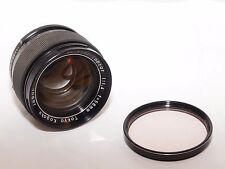 Topcon Topcor 58mm f/1.4 RE, Auto-Topcor normal lens in BLACK finish. Super D