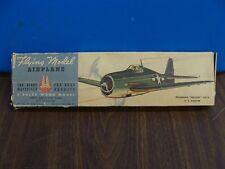 Vintage Ace Whitman Grumman Hellcat F6F-5 balsa wood model airplane kit*BOX ONLY