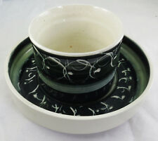 Vintage 1968 Rumney Pottery Planter and Drip Bowl/Tray