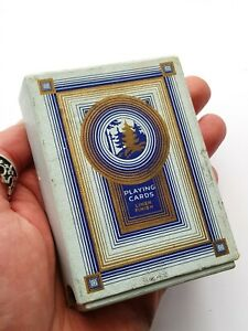 Vintage-WiLLS's-Rare Deck Of Golden Cut Tobacco Playing Cards-Never Used-c1933