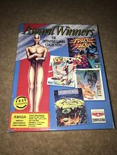 Award Winners Kick Off 2,Space Ace,Populous,Pipemania Amiga Computer Games