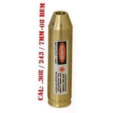 Brass Boresighter CAL: 243/308WIN/7mm-08REM .308 WIN Cartridge Bore Sight Hunt