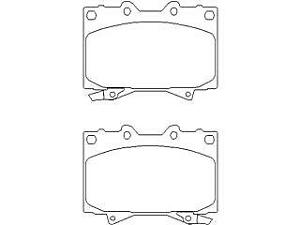 Replacement Mintex Front Brake Pads (Full set for Front Axle) MDB1906