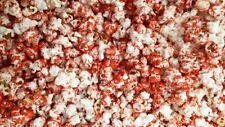 Popcorn sweet red colour with a hint of pink vanilla flavour 300g Vegetarian
