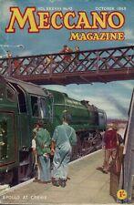 1953 OCTOBER D34898 Meccano Magazine Cover Picture  APOLLO AT CREWE