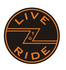 """Leather Key Fob""""  Live to Ride"""""""