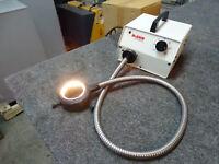 McBain FOI-150 Fiber Optic Illuminator w/ Microscope Ring Light