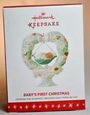 Hallmark: Baby's First Christmas - Welcome Sweet Baby - 2016 Keepsake Ornament