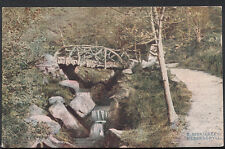 Yorkshire Postcard - Ilkley - Heber's Ghyll   RS3457