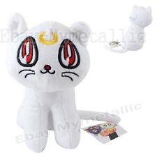 "Sailor Moon Minako White Guardian Cat Artemis 16cm / 6.4"" Soft Plush Doll Size M"
