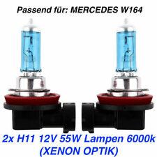 2 x H11 XENON HALOGEN NEBELSCHEINWERFER AutoLight24 55W für Mercedes GLK X204