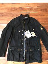 Belstaff Black Waxed Steve McQueen Replica JKT XL Mod 710675  Trialmaster *RARE*