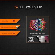 Adobe CS 6 Master Collection | Versione completa incl. disco | 2 x MAC O. WIN