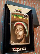 Zippo 28488 Bob Marley Reggae Chrome NEW in box Windproof Lighter