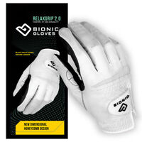 Bionic Golf Glove - RelaxGrip 2.0- Mens Right Hand - Medium - All Weather