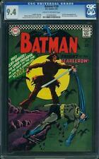 Batman #189 CGC 9.4 DC 1967 1st Silver Scarecrow! Tough Key! E12 192 cm clean