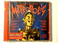 METROPOLIS  -  ORIGINAL MOTION PICTURE SOUNDTRACK  -  CD 1984  NUOVO E SIGILLATO