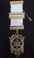 Masonic Regalia - Royal Arch Companions full size breast jewel 38mm wide - new