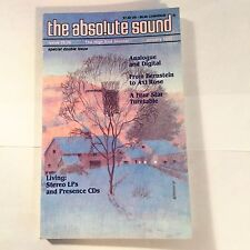 The Absolute Sound Issue Volume 16 Number 75 / 76, 1992 TAS Oracle Delphi IV
