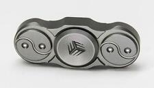 WE Knife co ltd Titanium Grey Fidget Finger Spinner Ceramic Bearings S01C