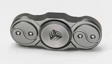 WE Knife co ltd Titanium Grey Fidget Finger Spinner Ceramic Bearings S01C