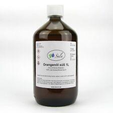 (19,49/L) Sala Orangenöl süß 100% naturrein Orangen Öl 1000 ml 1 L Glasfl.