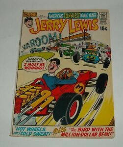 The ADVENTURES of JERRY LEWIS # 124 DC COMICS 1971 HUMOR COMEDY MOVIE TV STAR