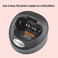 Only Base No Power Supply for Motorola XTS5000 Portable Radio Battery Charger