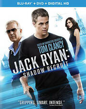 Jack Ryan: Shadow Recruit (Blu-ray/DVD, 2014,