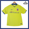 FCSB Steaua Bucuresti Football Shirt Nike L Large Away Soccer Jersey 2008 B85