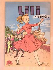 RARE MAGAZINE / LILI INTERPRETE / EDITION 1962 / BON ETAT