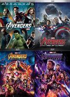 Avengers 1-4 DVD Set (Age of Ultron, Infinity War, Endgame) Brand New!  4 DVDs!