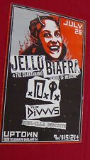 Punk Poster Jello Biafra School of Medicine Oakland