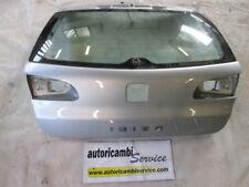 SEAT IBIZA 1.2 BENZ 5M 51KW (2007) RICAMBIO PORTELLO COFANO POSTERIORE BAULE CON