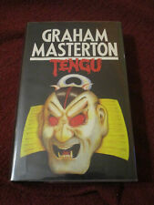 Tengu by Graham Masterton (1987, HC) UK first print thus Manitou author