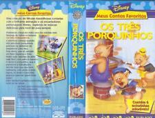 WALT DISNEY OS TRES PORQUINHOS (THREE LITTLE PIGS) DUBLADO PORTUGESE#