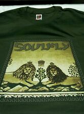 SOULFLY 3 OFFICIAL IN THIS TREE OF PAIN XL T-SHIRT (NEW) MAX SEPULTURA OOP RARE!