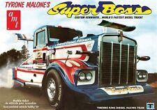 AMT 1:25 Tyrone Malone Kenworth Super Boss Drag Truck Model Kit AMT930