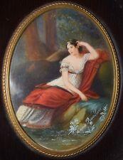 L'Impératrice Joséphine d'après Prudhomme - Peinture miniature  (Napoléon Ier)
