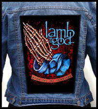LAMB OF GOD - Pray For The Cleansing  --- Giant Backpatch Back Patch