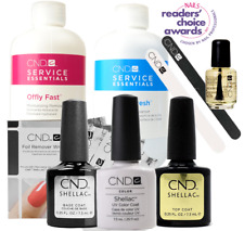 CND Shellac Starter Kit, Top/Base/Essentials/Color Cream Puff