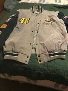 WILSON'S LEATHER #48 JIMMIE JOHNSON NASCAR LOWE'S JACKET SIZE XL