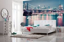 Carta da parati New York City Skyline Murale Parete 368x254cm SALOTTO Wall Art Decor